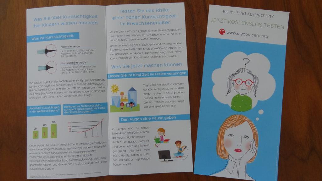 Info Flyer MyopiaCare